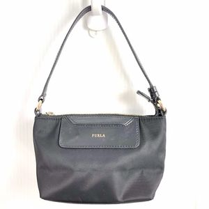 FURLA Mini Handbag Purse Black